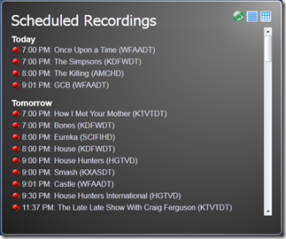 Remote Potato Schedule